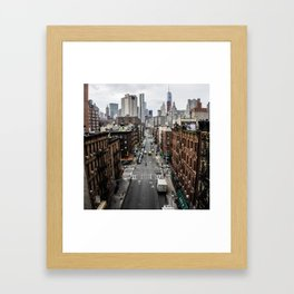 Chinatown of NYC Framed Art Print