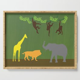 Swingin' Monkeys Jungle Theme Serving Tray