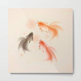 Goldfish 001 Metal Print