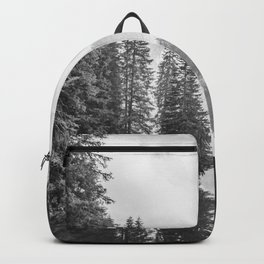 The Perfect View (Black and White) Backpack