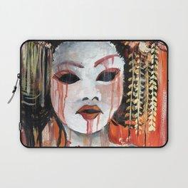 Geisha in Autumn Rain: The Innocent Concubine Laptop Sleeve