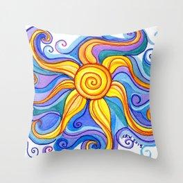 Embraced Throw Pillow