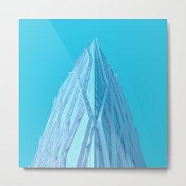 torre diagonal Metal Print