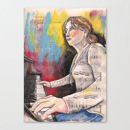 Piano 1 Canvas Print