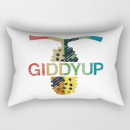 GIDDYUP 2 Rectangular Pillow