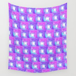Purple Pink Wall Tapestry