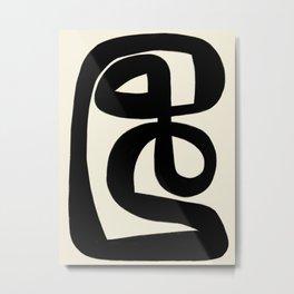 Modern Minimal Abstract #6 Metal Print