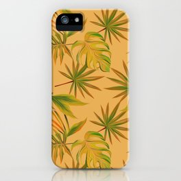 Leave Pattern iPhone Case
