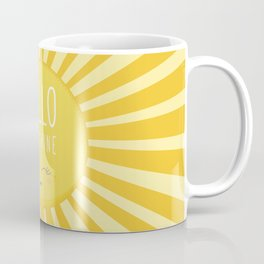 KAWAII SKY - happy smiling sun - hello sunshine quote Coffee Mug