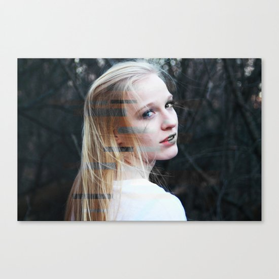 Scatterbrained Canvas Print