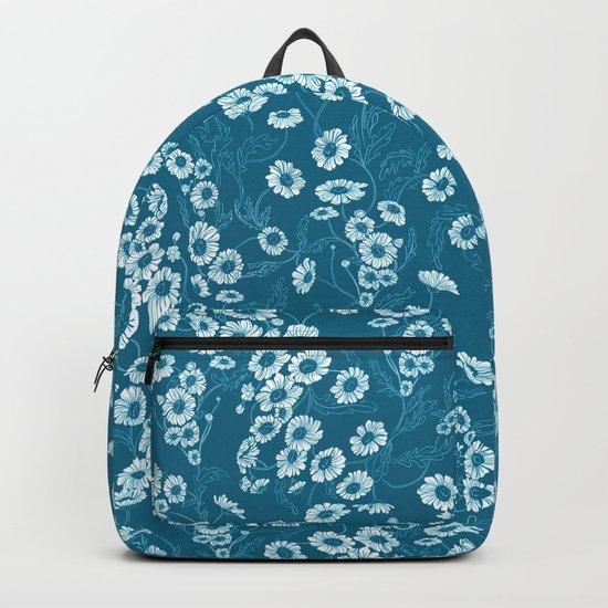 Daisy Dream Blue Backpack