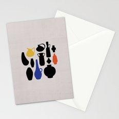 West German Ceramics Stationery Cards