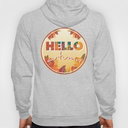 Hello Autumn, circle Hoody