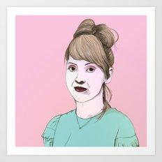 Maia Art Print