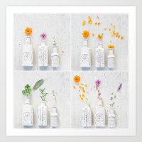 Flower Fantasy Art Print