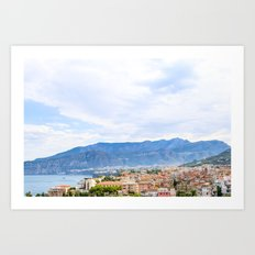 Colorful Sights in Sorrento, Italy Art Print