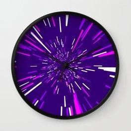 Space Trip 2 Wall Clock