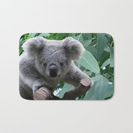 Koala and Eucalyptus Bath Mat