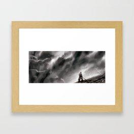 Shattered Plains Framed Art Print