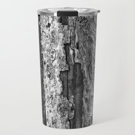 Carvings in Tree Trunk Gnarly Texture Pattern Travel Mug