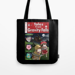 Tales from Gravity Falls Tote Bag