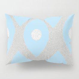 Eye Pattern Blue Pillow Sham