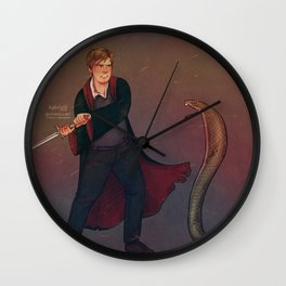 The boy who led the army Wall Clock