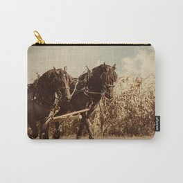 Plow Horses Carry-All Pouch