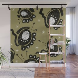Snooty Germs  Wall Mural