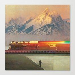 Running On Empty Canvas Print