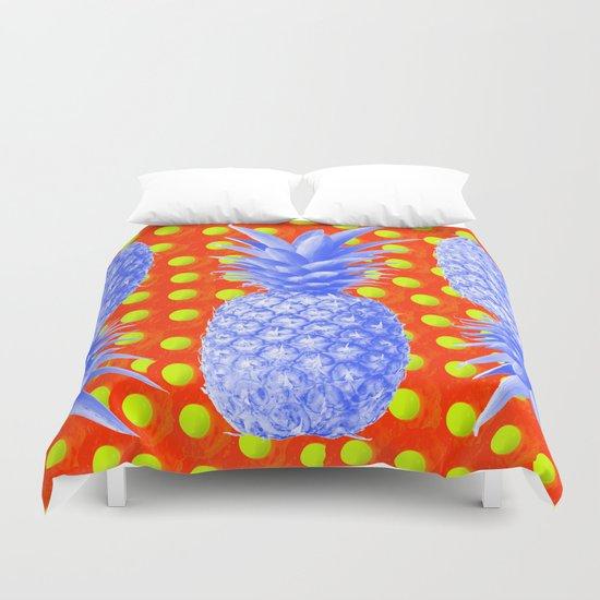 Pineapple Oyster Duvet Cover