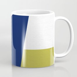 Mid Century Modern Coastal Geo pattern  Coffee Mug