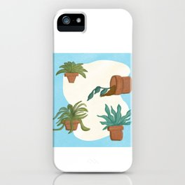 Potted Plants and Garden Care iPhone Case
