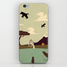 Z is for Zebra iPhone & iPod Skin