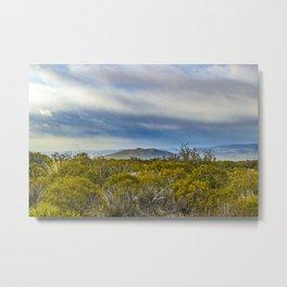 Patagonian Landscape Scene, Santa Cruz, Argentina Metal Print