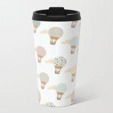 baloon collage pattern  Metal Travel Mug