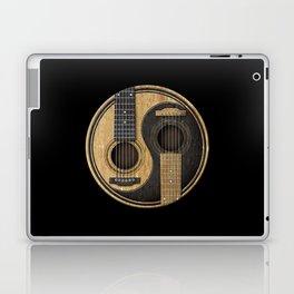Aged Vintage Acoustic Guitars Yin Yang Laptop & iPad Skin