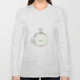 Green parfum with girl Long Sleeve T-shirt