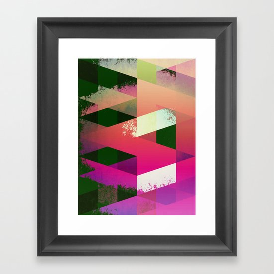 DESTRUCT.jpg Framed Art Print