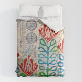 Red flowers Comforters