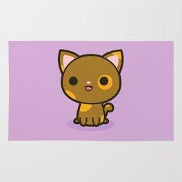 Kawaii Kitty 4 Rug