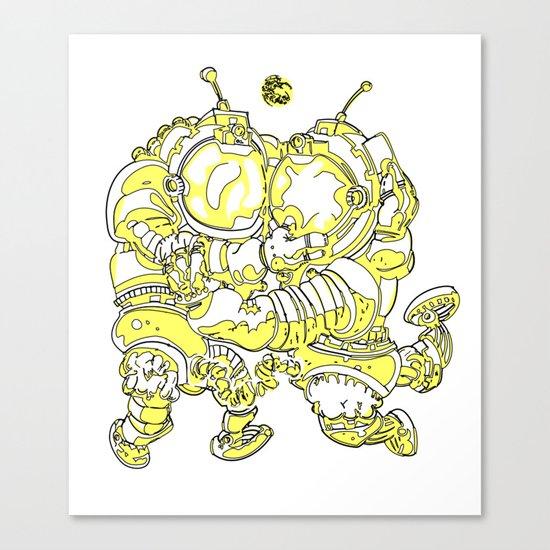 Space Fuckin' Canvas Print