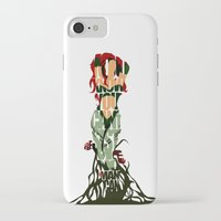 poison ivy iPhone & iPod Cases featuring Poison Ivy by Ayse Deniz