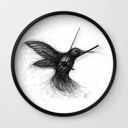Humming Bird Wall Clock