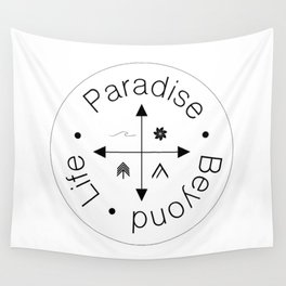 Life Compass Wall Tapestry