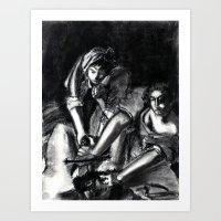 Bad Ass Ladies of Florence: Judith Art Print