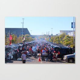 Chicago Bears Tailgate Canvas Print