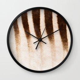 Zebra - Africa - #society6 #buyart #decor Wall Clock