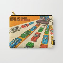 1970 American Issue Vintage Hot Wheels Redline Factory Poster Carry-All Pouch
