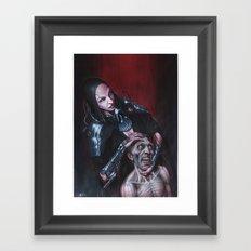 Cyberdeath Framed Art Print